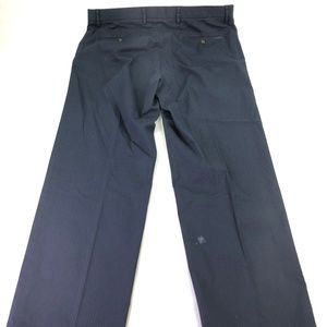Dockers Classic Fit Khaki Striped Pants Sz D3 N459